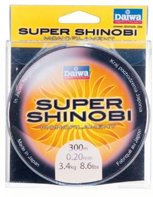 Daiwa Super Shinobi Mono 0,14mm 300m