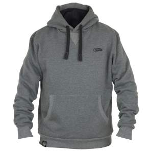 Fox Chunk Ribbed Grey Hoody - XXXL