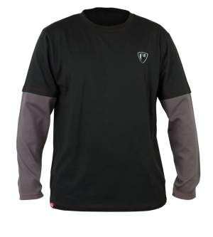 Fox Rage Grey  / Red Long Sleeve Shield T-shirt L