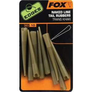 FOX Edges Naked Line Tail Rubbers x 10pc