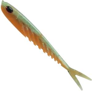 BERKLEY Powerbait Ripple Minnow 12,5 cm Green Orange