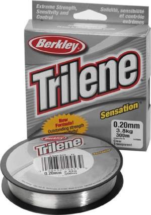 BERKLEY Trilene Sensation 0,24mm 300m clear 5,7kg