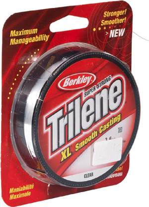 BERKLEY Trilene XL 0,35mm 245m clear, monofile Angelschnur, mono line