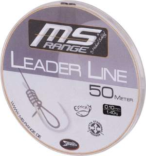MS RANGE Leader Line 0,12mm 50m