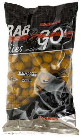 STARBAITS Grab & Go Mais Corn 20mm 1Kg