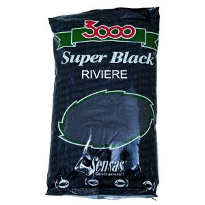 SENSAS 3000 Super Black River 1Kg