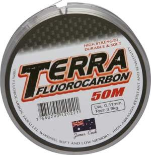 James Cook Terra fluorocarbon 0,24mm 6,3kg 50m