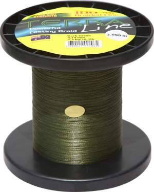 James Cook Terra Line 0,14mm 1000m dark-green 7,3kg
