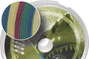 James Cook Soft Braid 150m 0,30mm multicolor