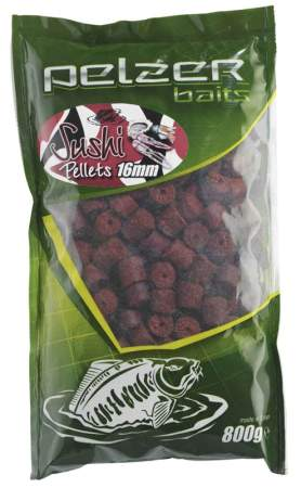 PELZER Pellets 800g 10mm red Sushi