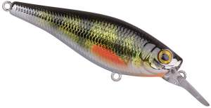 SPRO Ikiru Shad 70SL SP Chrome Green-Perch