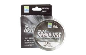 PRESTON Reflo Braid Cast - 0.12mm 150m, geflochtene Angelschnur, braided line