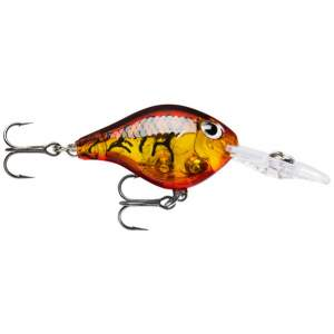 RAPALA Ultra Light Crank 3cm Glass Amber Tiger UV