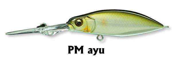 MEGABASS Spindrive  58 PM Ayu