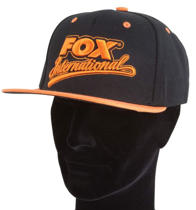 FOX Carp Snap Back Cap Orange/Black