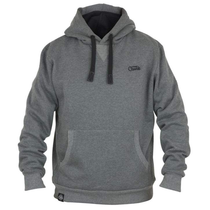 Fox Chunk Ribbed Grey Hoody