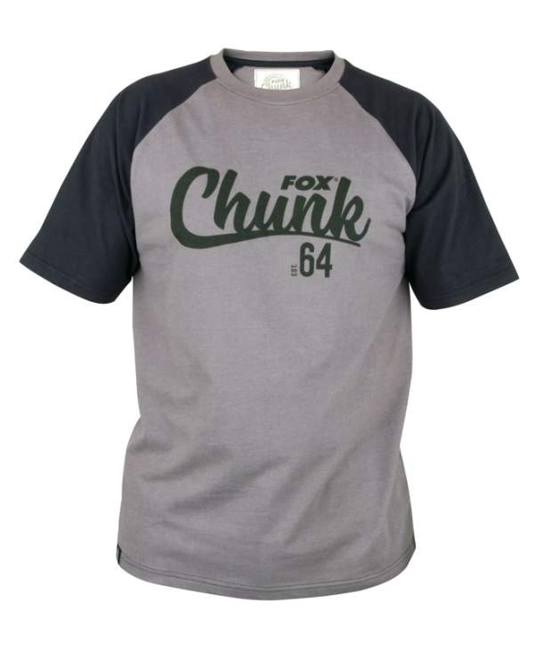 FOX Chunk Black / Grey T-shirt