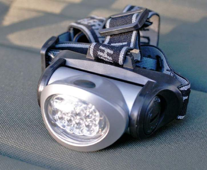 EFT 8LED-Headlight red/white